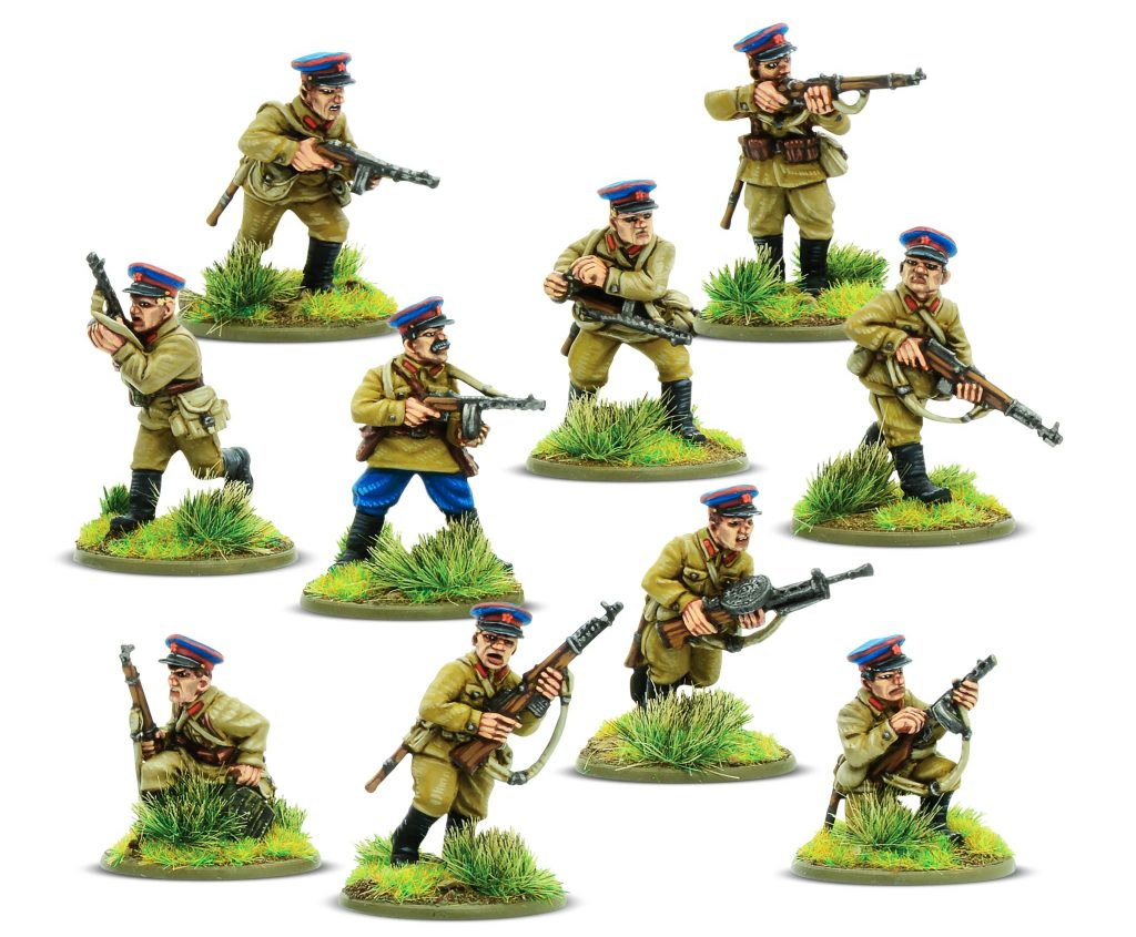 Soviet NKVD Squad - Bolt Action