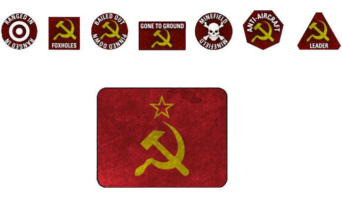 Soviet Tokens - Team Yankee