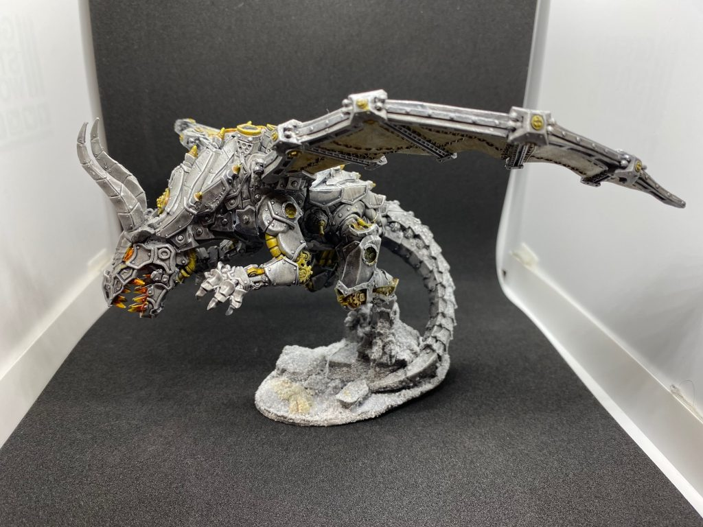 Steam Dragon #1 by danlee