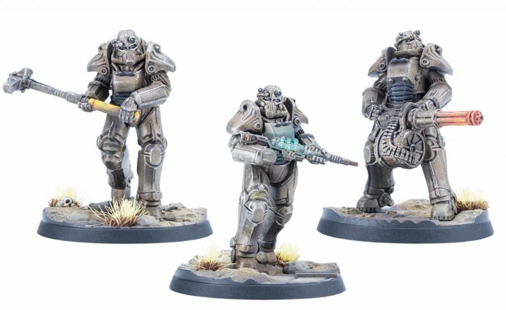 T-45 Power Armour - Fallout Wasteland Warfare