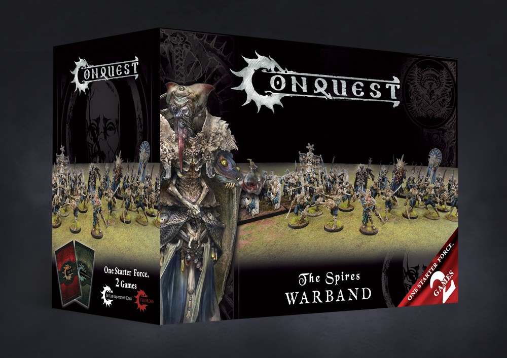 The Spires Warband - Conquest