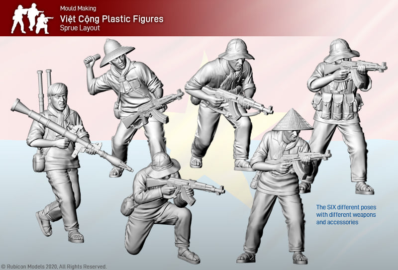 Viet Cong Soldiers - Rubicon Models