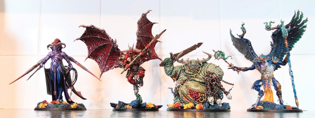 Warhammer Greater Daemons #1 by ProbablyPlayingToySoldiers