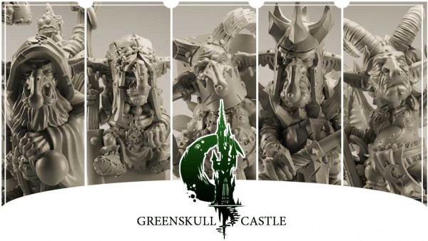 Emvicreative Bring Greenskull Castle Goblins To Kickstarter