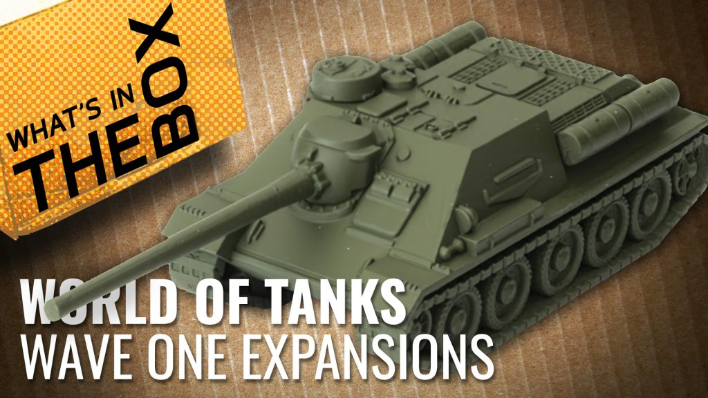 Unboxing: World of Tanks Miniatures Game Expansions