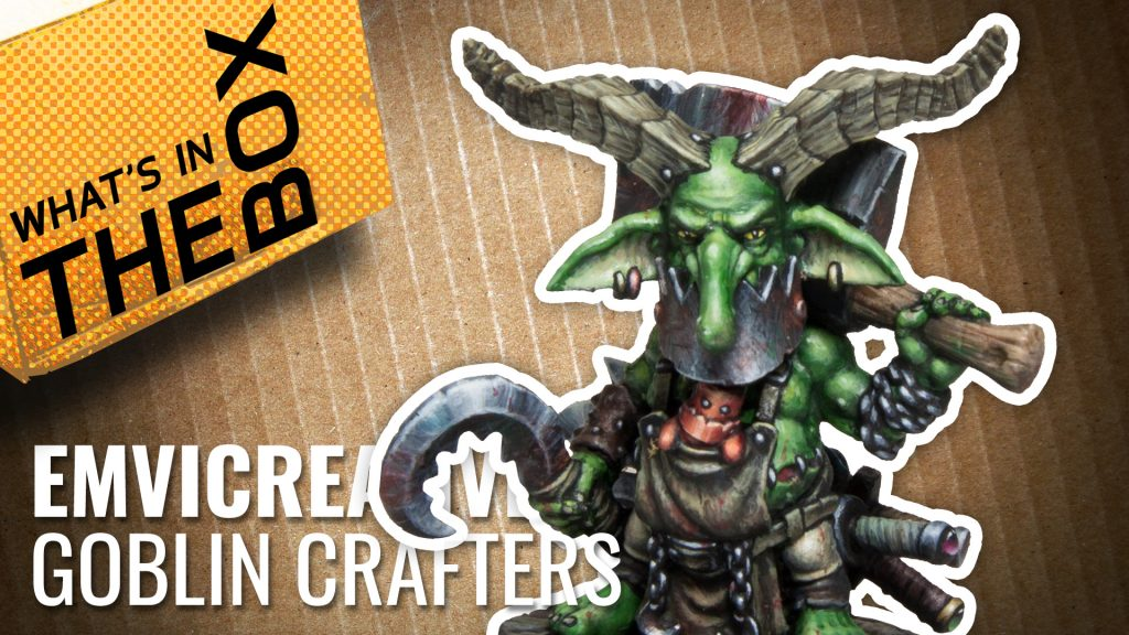 Unboxing: Greenskull Castle Goblin Crafters | Emvicreative