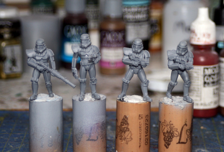 These models needed so much cleaning.