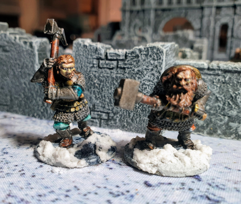 Old Orks and New Dwarves