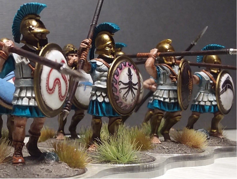 Ancient Greeks for Clash of Spears