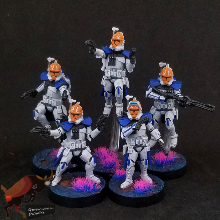 The arc troopers and the completion of the army