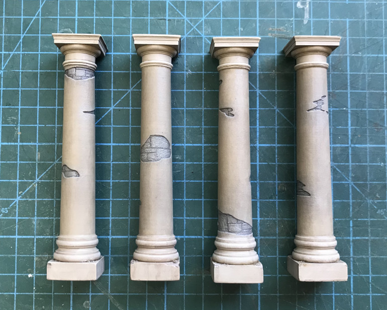 Finished Columns