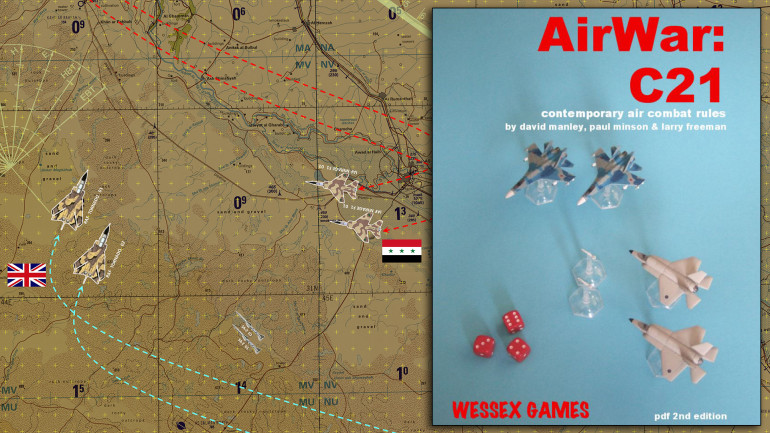 AirWar C21 is the system I use for modern air combat.  Data annexes are available to exand the game all the way from