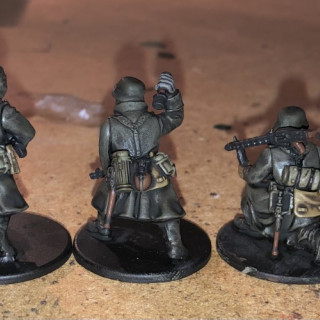 German Infantry Painting Guide