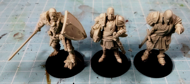 They really look amazing and I can't wait to paint them.
