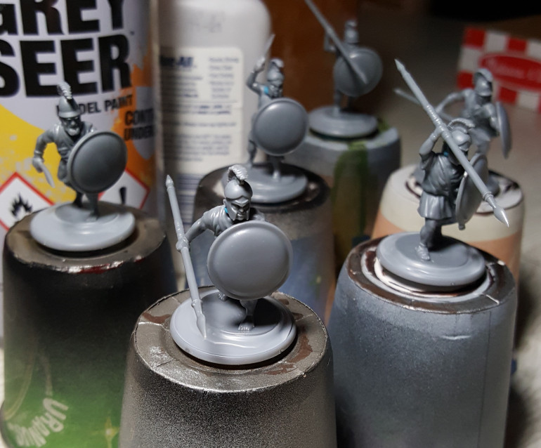 I will be using the excellent ancient Greek range of miniatures from Victrix to make my force