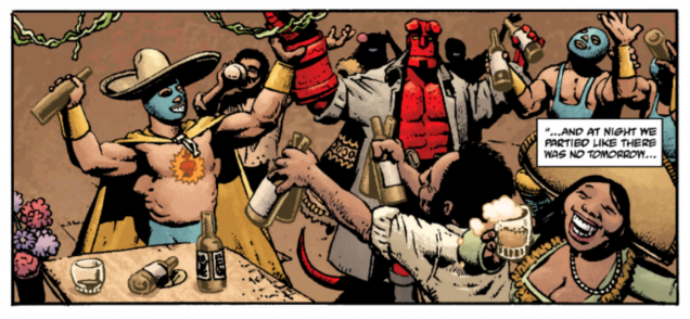 Hellboy arrives in Mexico