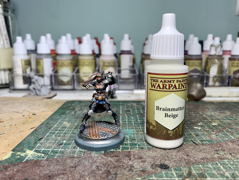 All drybrushed up!
