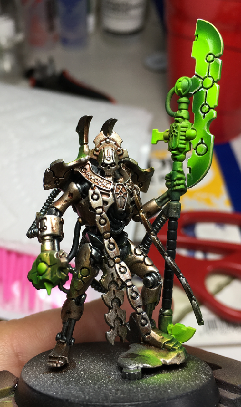Amonhotep IV - Improved Hypherphase Glaive - Now with an Oil Wash