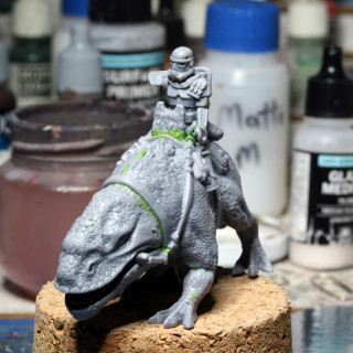 Working on the Troopers