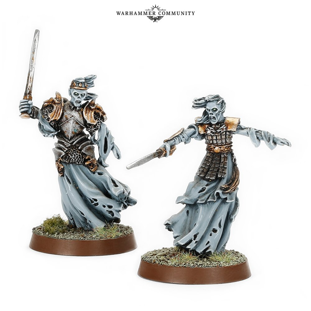 Barrow-wights - Middle-earth Strategy Battle Game