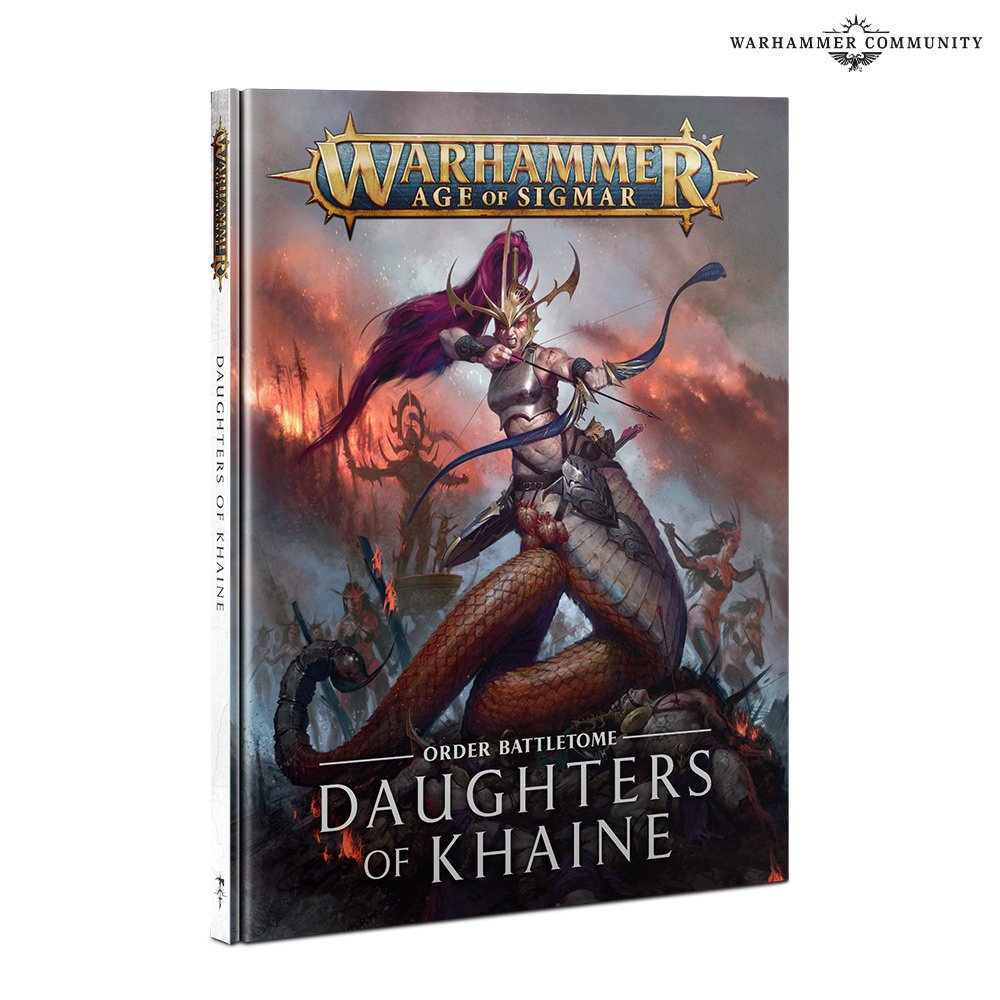 Daughters Of Khaine Battletome - Warhammer Age Of Sigmar