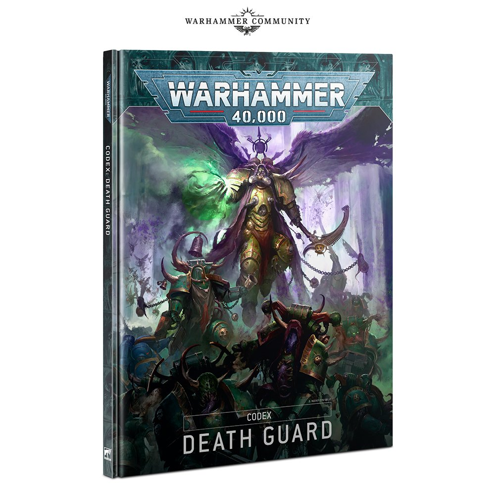 Death Guard Codex - Warhammer 40K