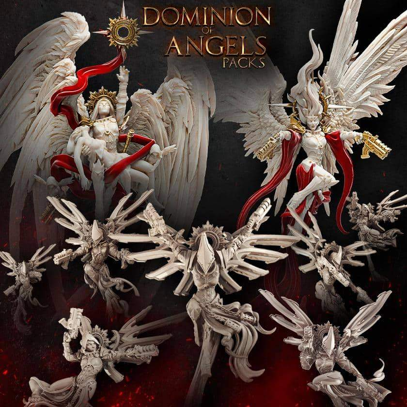 Dominion Of Angels - Raging Heroes