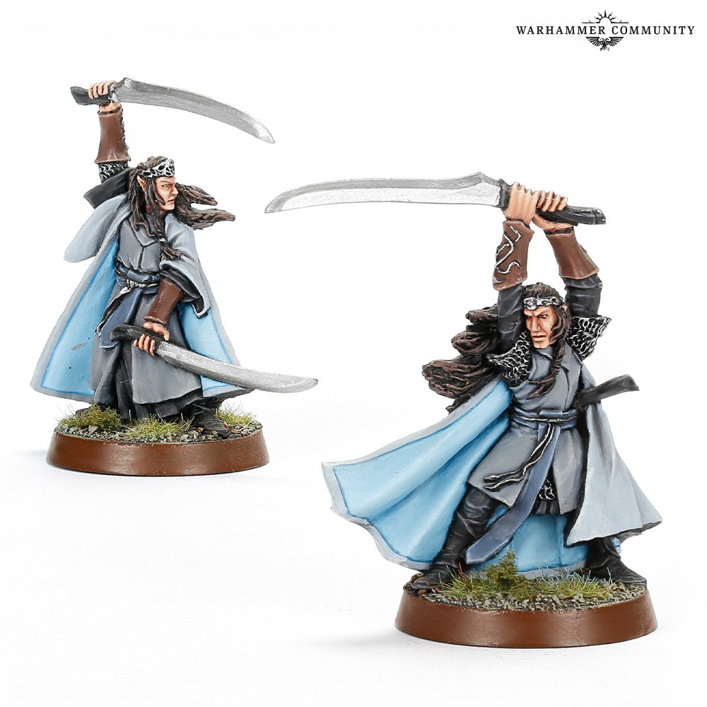 Elladan & Elrohir - Middle-earth Strategy Battle Game