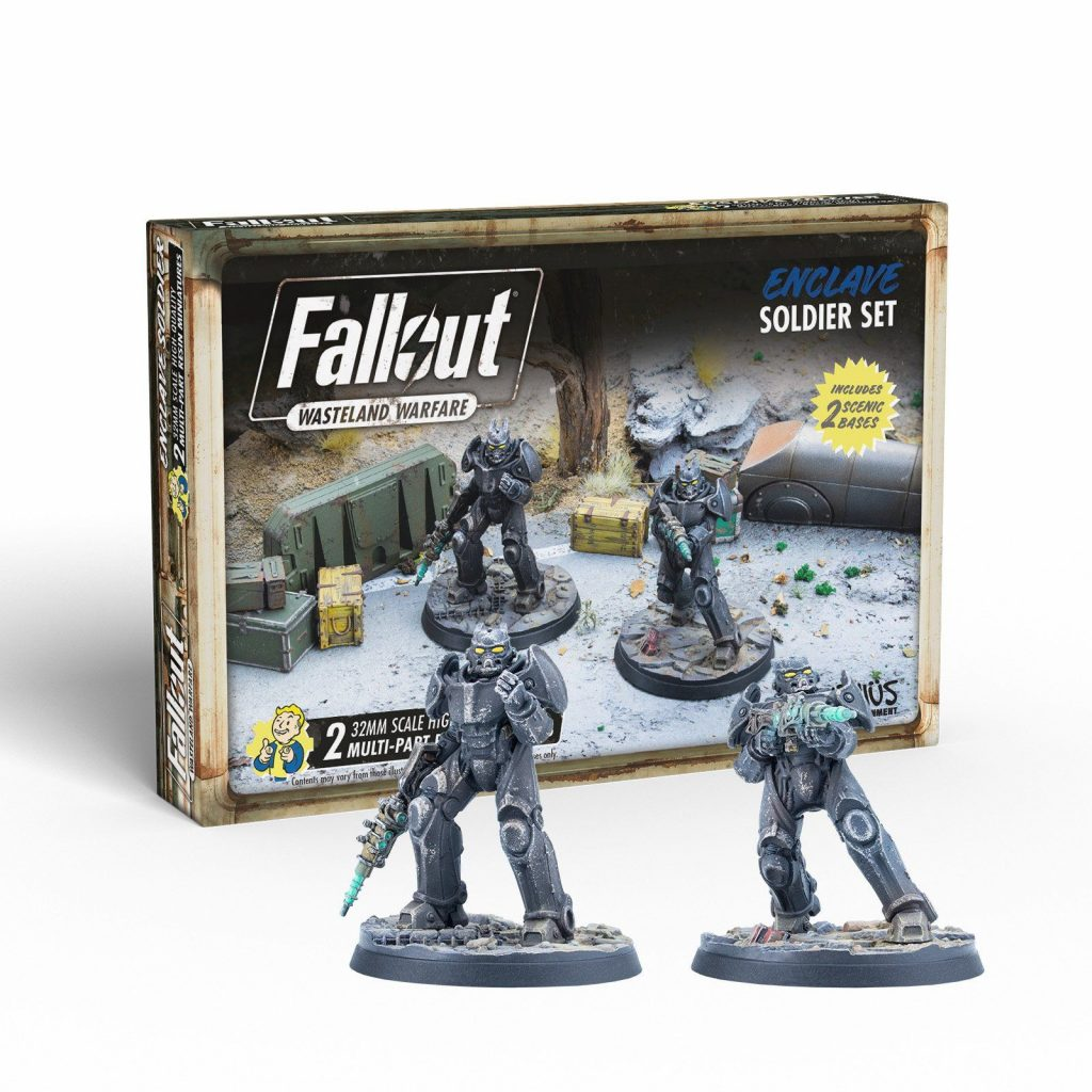 Enclave Soldier Set - Fallout Wasteland Warfare