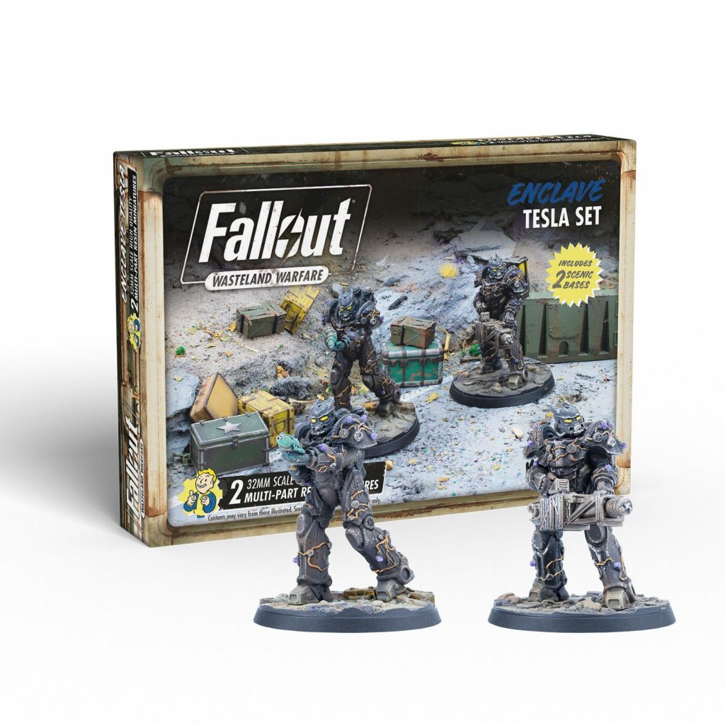 Enclave Tesla Set - Fallout Wasteland Warfare