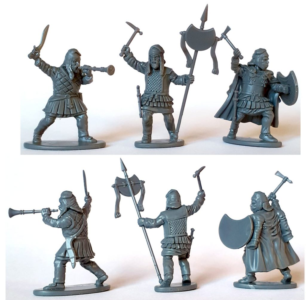Finished Persian Unarmoured Spearmen #1 - Victrix