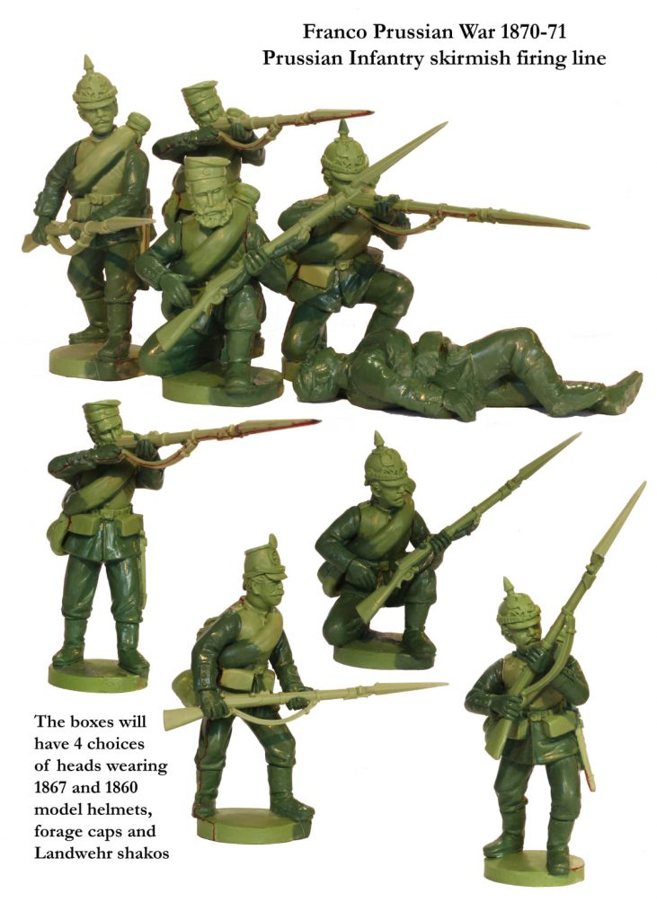 Franco Prussian War Infantry #1 - Perry Miniatures