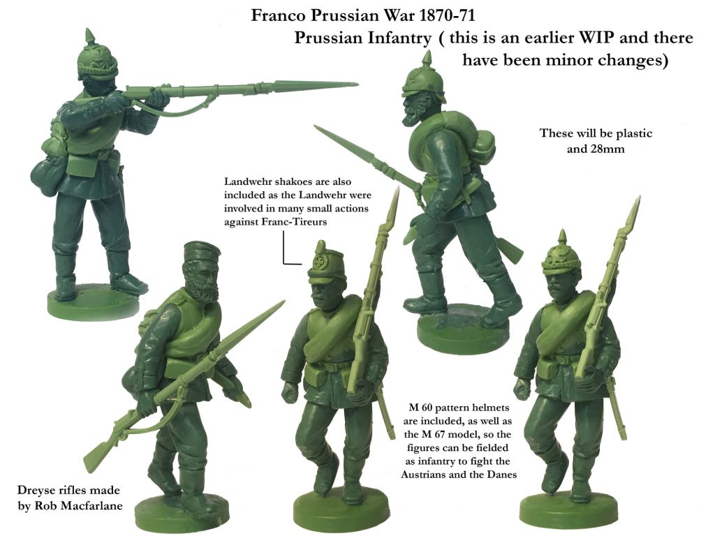 Franco Prussian War Infantry #3 - Perry Miniatures