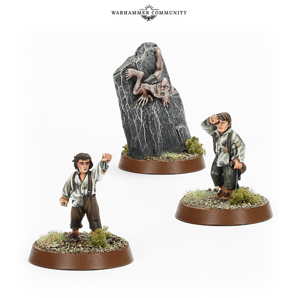Frodo Sam & Gollum - Middle-earth Strategy Battle Game