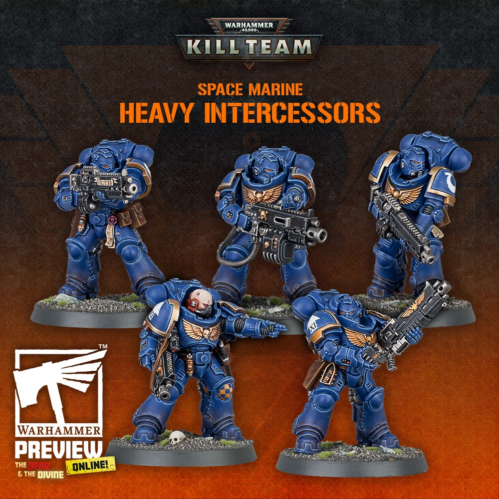 Heavy Intercessors - Warhammer 40K