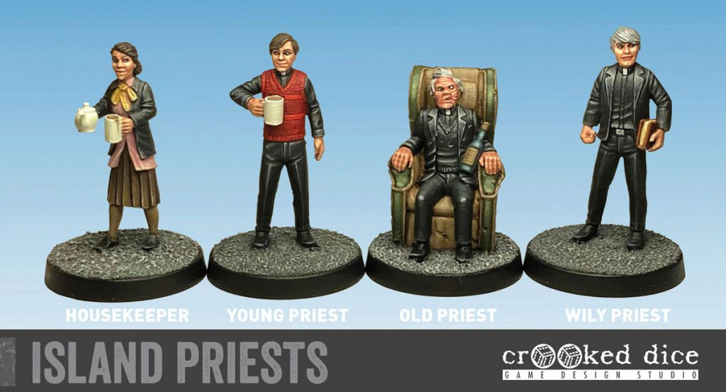 Island Priests - Crooked Dice