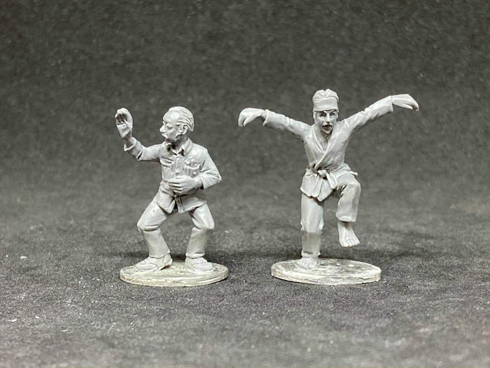 Karate Team - Studio Miniatures