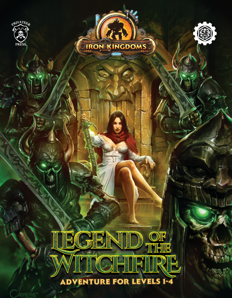 Legend Of The Witchfire Cover - Iron Kingdoms RPG