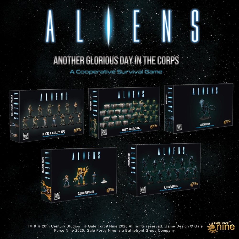 Miniature Expansions - Aliens Another Glorious Day In The Corps