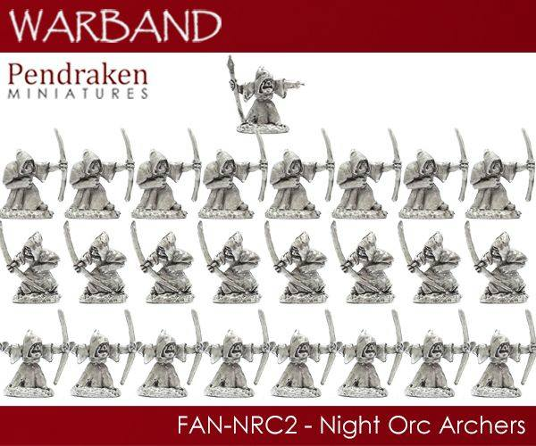 Night Orc Archers - Pendraken Miniatures