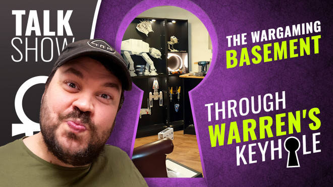 "Cult Of Games XLBS: ""Who Lives In A Wargamer Basement Like This?"""