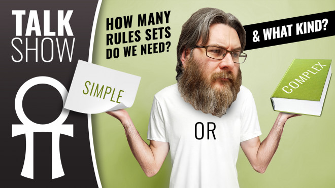 Cult Of Games XLBS: How Many Tabletop Rules Do We Need & Should They Be Simple Or Complex?