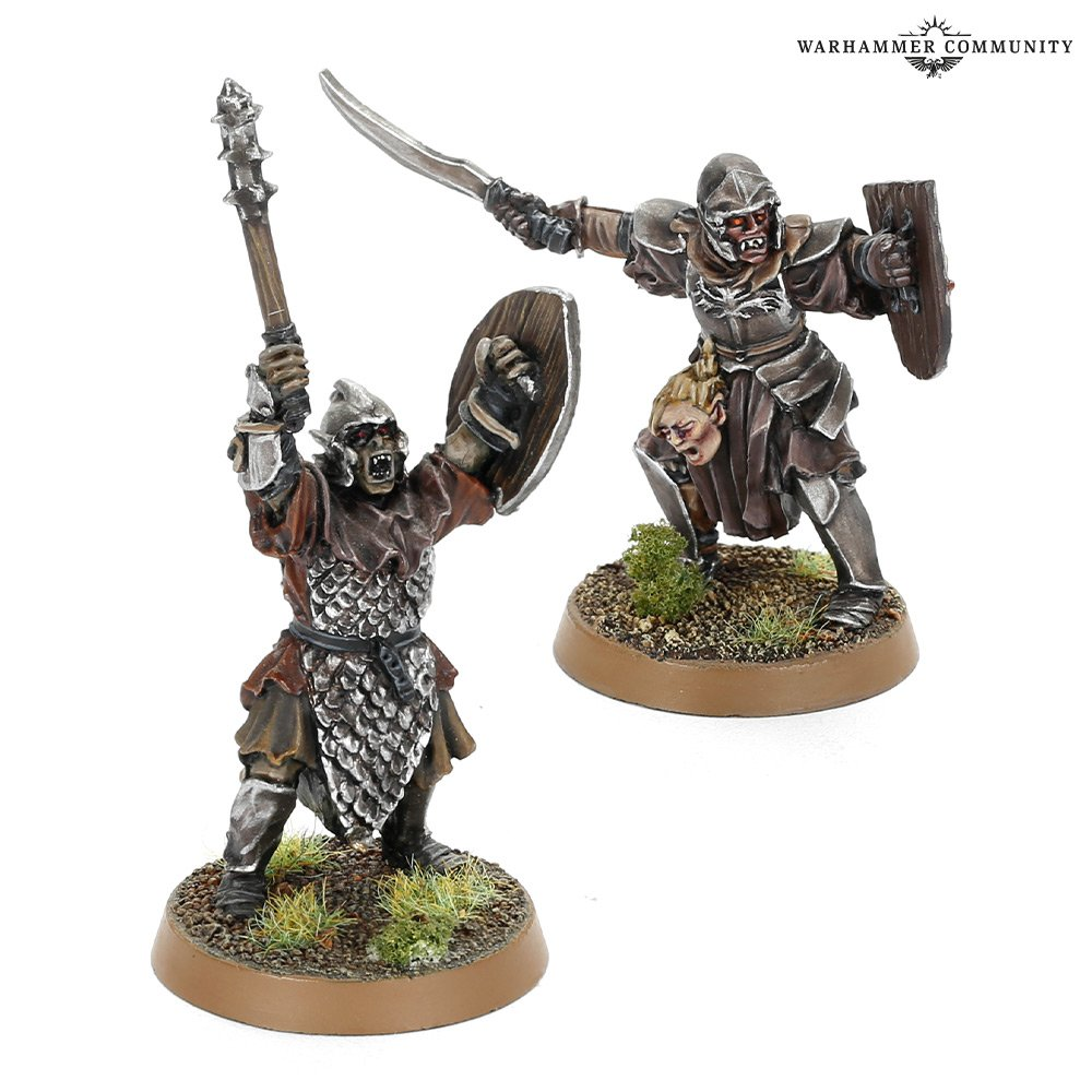 Orc Captains - Middle-earth Strategy Battle Game