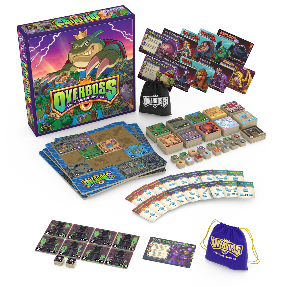 Overboss Contents - Brotherwise Games