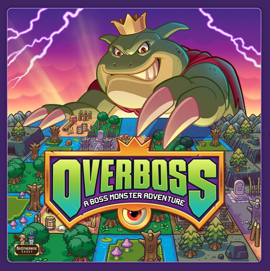 Overboss Cover - Brotherwise Games