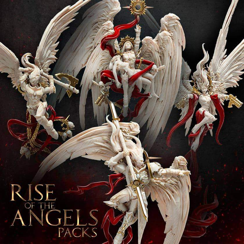 Rise Of The Angels - Raging Heroes