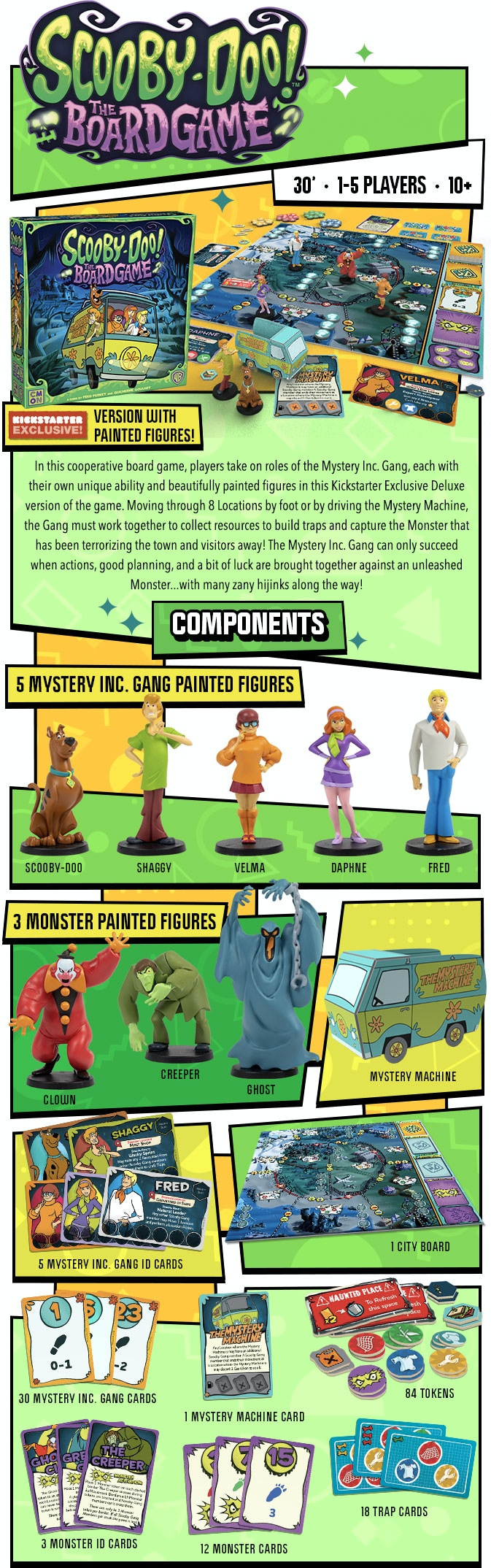 Scooby Doo The Board Game - CMON