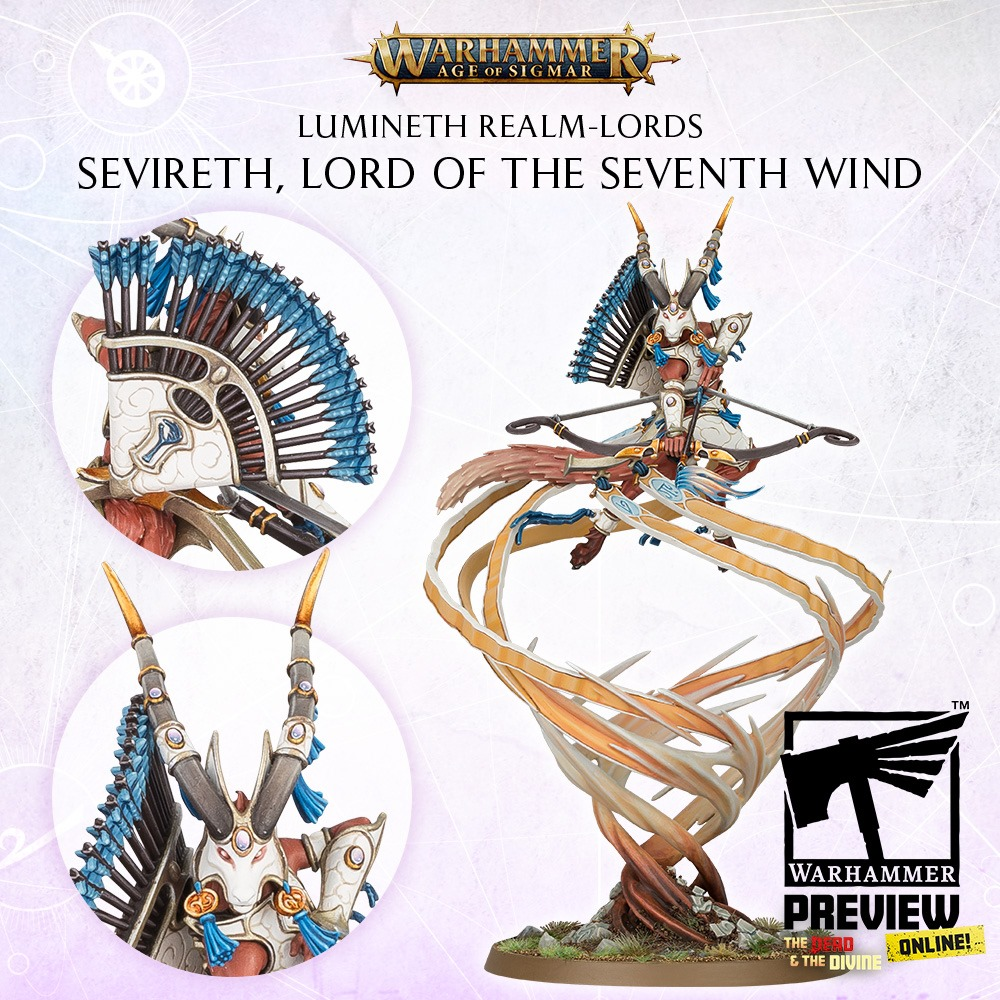 Sevierth Lord Of The Seventh Wind - Warhammer Age Of Sigmar