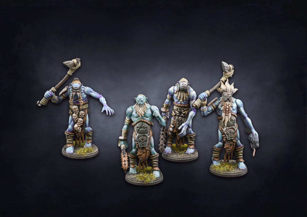 Trolls Miniatures - Conquest The Last Argument Of Kings