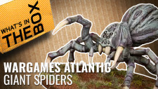 Unboxing: Giant Spiders | Wargames Atlantic